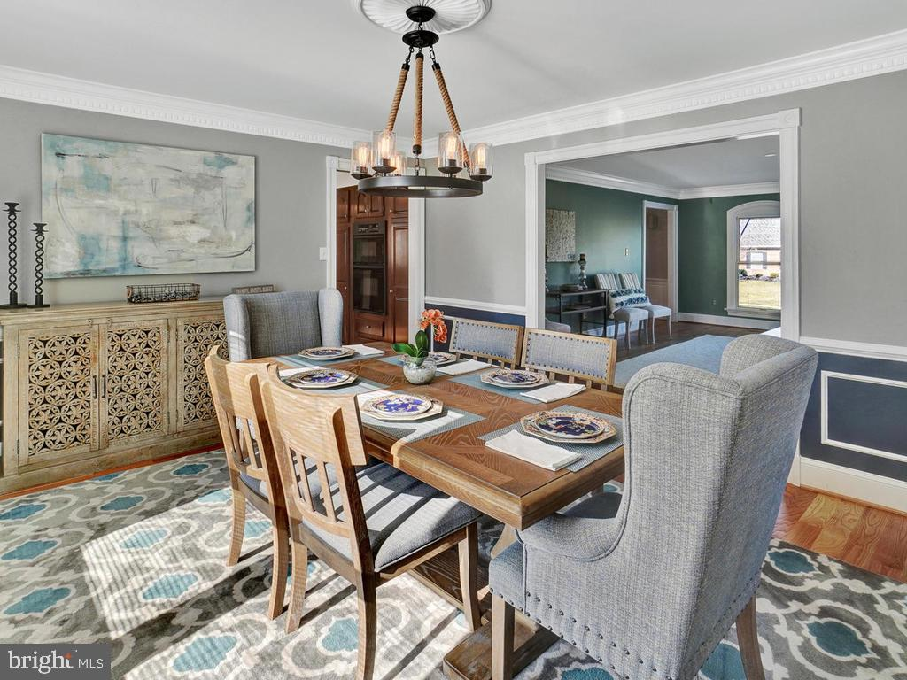 Enter the dining room from the living room - 1012 MERCER PL, FREDERICK