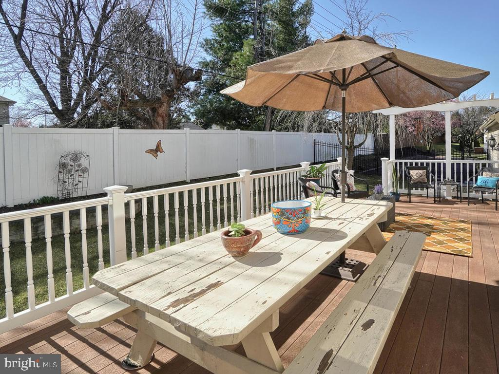 Sitting areas on the side and back - 1012 MERCER PL, FREDERICK