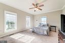 Main level master has great light - 7102 BYRNELEY LN, ANNANDALE