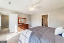 This master also has en suite bath - 7102 BYRNELEY LN, ANNANDALE
