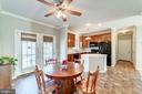 Kitchen opens to deck for grilling and more - 7102 BYRNELEY LN, ANNANDALE