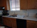 Window above Kitchen Double Sink - 12509 HAWKS NEST LN, GERMANTOWN