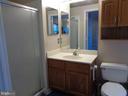 Ceramic Master Bath w/ Stall Shower - 12509 HAWKS NEST LN, GERMANTOWN
