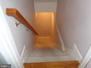 Stairway to the Finished Basement - 12509 HAWKS NEST LN, GERMANTOWN