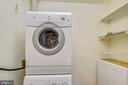 Dedicated Laundry Room - 1121 ARLINGTON BLVD #1005, ROSSLYN
