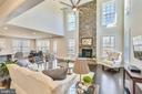 Grand great room / family room - 41178 CHATHAM GREEN CIR, ALDIE