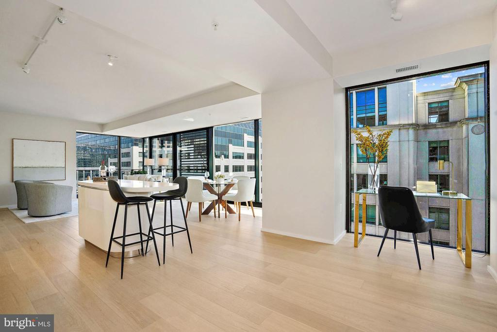 Open Floor Plan - 920 I ST NW #811, WASHINGTON