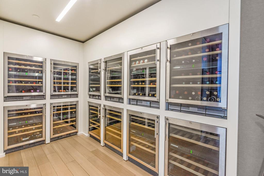 Wine Frigs - one of three rooms - 920 I ST NW #811, WASHINGTON
