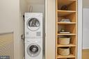 Washer and Dryer and Built in Bookcase - 920 I ST NW #811, WASHINGTON