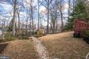 A cute path to your backyard oasis! - 10822 CHARLES DR, FAIRFAX