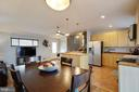 Just off the kitchen is room for a table - 10822 CHARLES DR, FAIRFAX