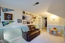 Lower level family room is quite a bonus - 10822 CHARLES DR, FAIRFAX