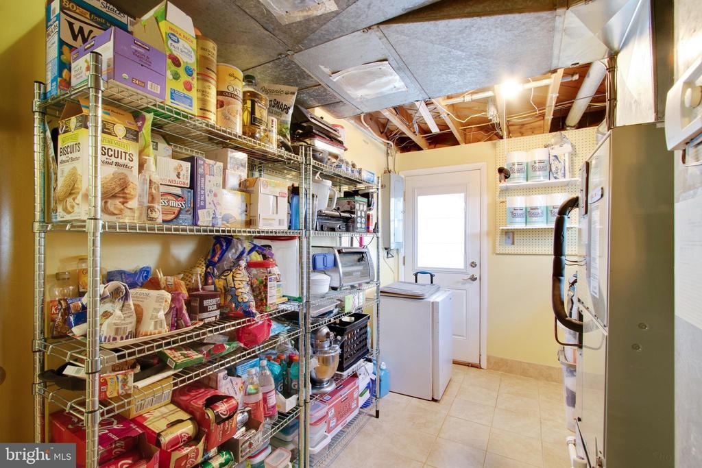 Storage space is always a bonus & door to outside - 10822 CHARLES DR, FAIRFAX
