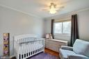Bedrooms are neutrally painted - 10822 CHARLES DR, FAIRFAX