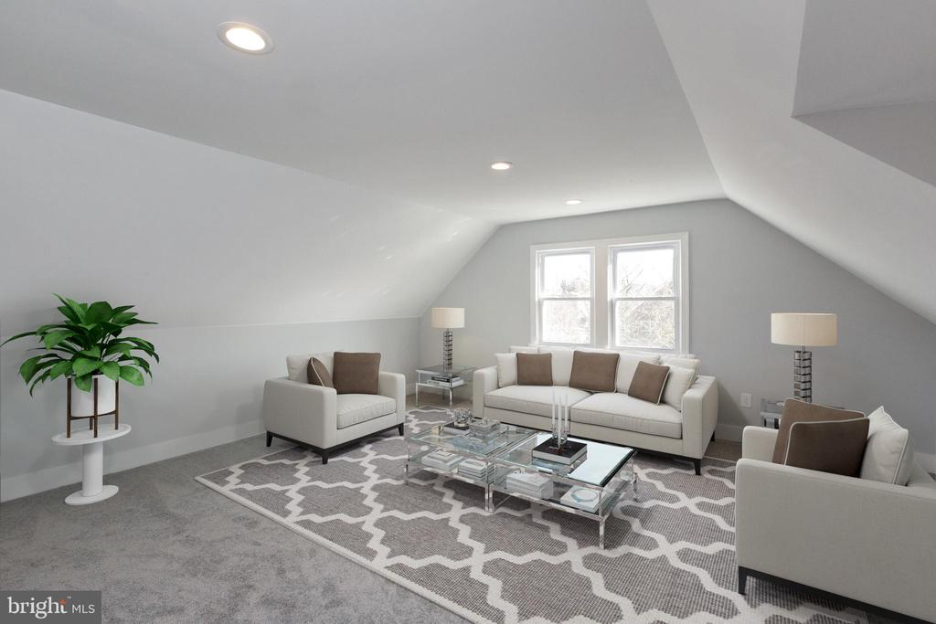 Your penthouse level master suite. - 6420 13TH ST NW, WASHINGTON