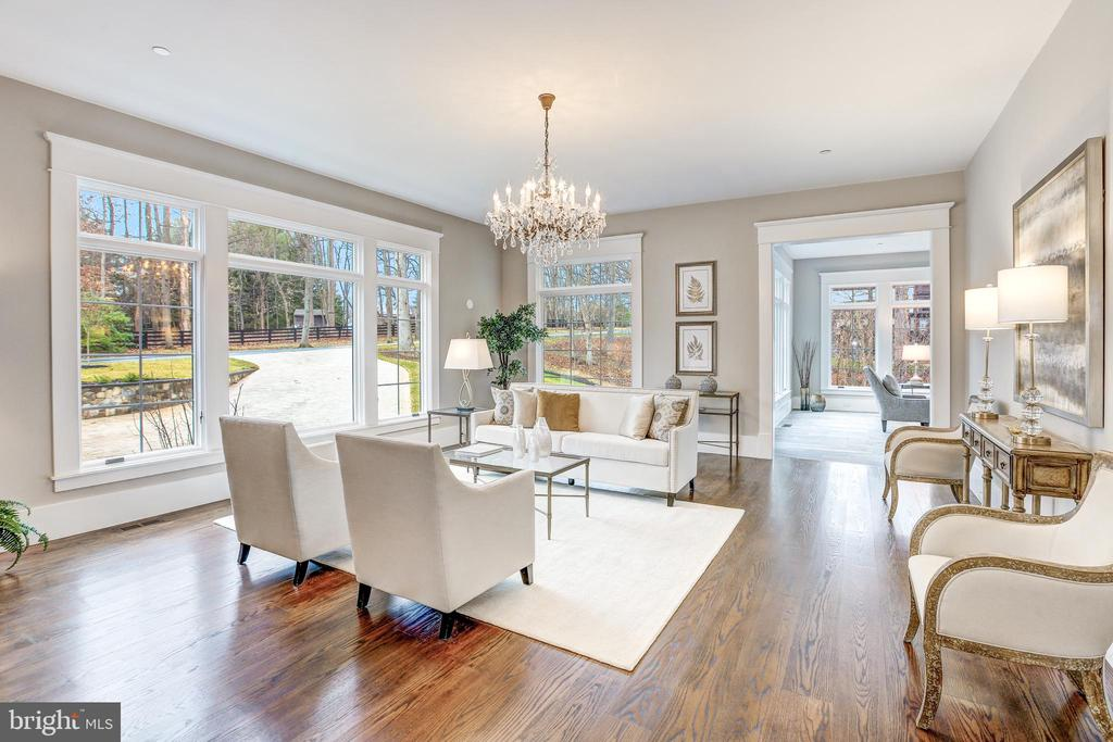 Formal Living Room - 12025 EVENING RIDE DR, POTOMAC