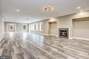 Recreation Room with Fireplace - 12025 EVENING RIDE DR, POTOMAC