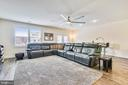 Relax in your open Great Room space - 20495 MILBRIDGE TER, ASHBURN