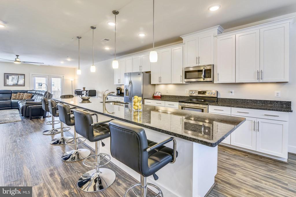 Absolutely Gleaming Upgraded Granite Countertops! - 20495 MILBRIDGE TER, ASHBURN