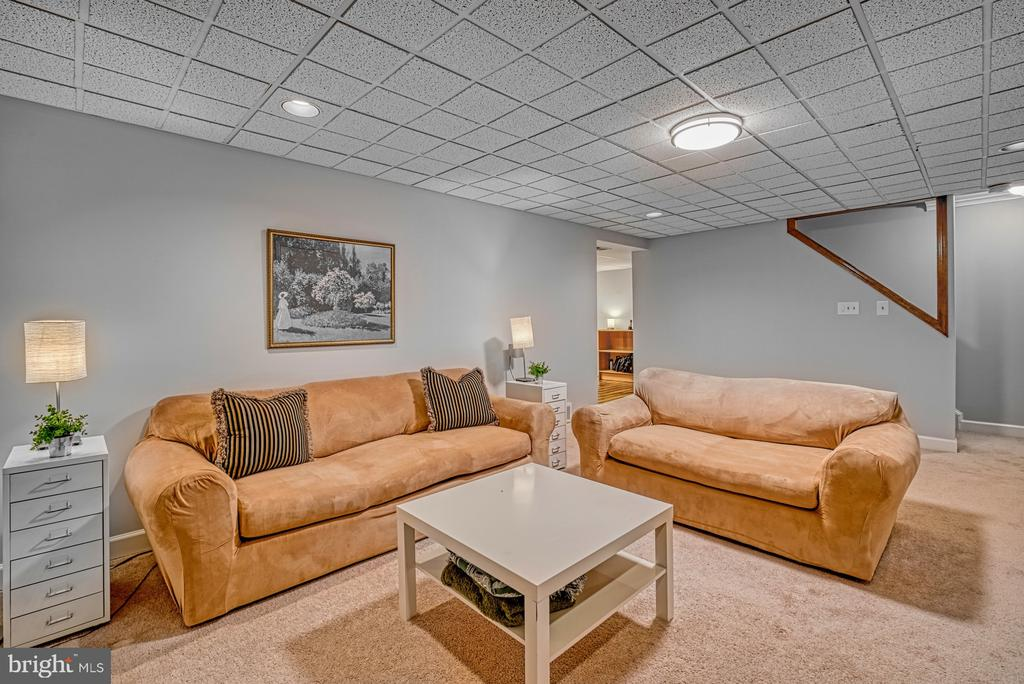 Fantastic rec room in basement - 12911 ASHTON OAKS DR, FAIRFAX