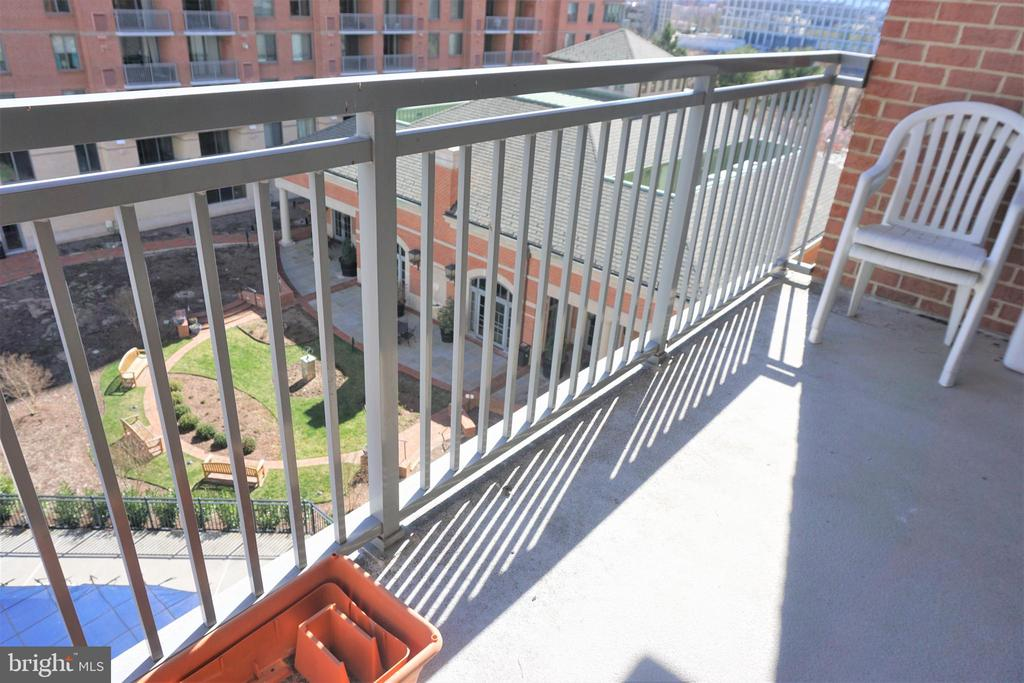 Balcony - 11710 OLD GEORGETOWN RD #630, NORTH BETHESDA