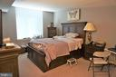 Master bedroom with full bath - 11710 OLD GEORGETOWN RD #630, NORTH BETHESDA