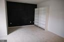 Large Bedroom with Bump Out and Book Shelves - 17281 PICKWICK DR, PURCELLVILLE