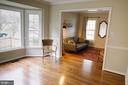 Dining Room Boasts Beautiful Southern Light - 17281 PICKWICK DR, PURCELLVILLE