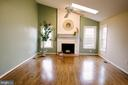 Wood Burning Fire Place - 17281 PICKWICK DR, PURCELLVILLE