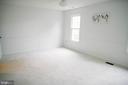 Master Bedroom New Carpet - 17281 PICKWICK DR, PURCELLVILLE