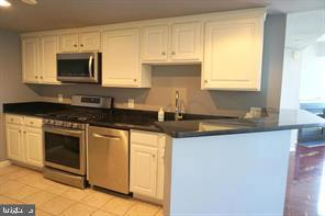 Kitchen with granite countertops - 11710 OLD GEORGETOWN RD #630, NORTH BETHESDA