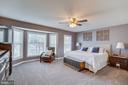 Master Bedroom with Sitting Bay Window Area - 167 BROOKE RD, FREDERICKSBURG