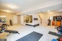 Rec room or home gym space - 75 COLEMANS MILL DR, FREDERICKSBURG