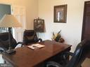 Office/bedroom w/ closet - 12090 MOUNTAIN WATCH CT, LOVETTSVILLE