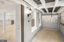 Front entrance to basement - 2509 N CAPITOL ST NE, WASHINGTON