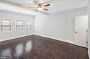 Spacious master bedroom with great storage - 2509 N CAPITOL ST NE, WASHINGTON