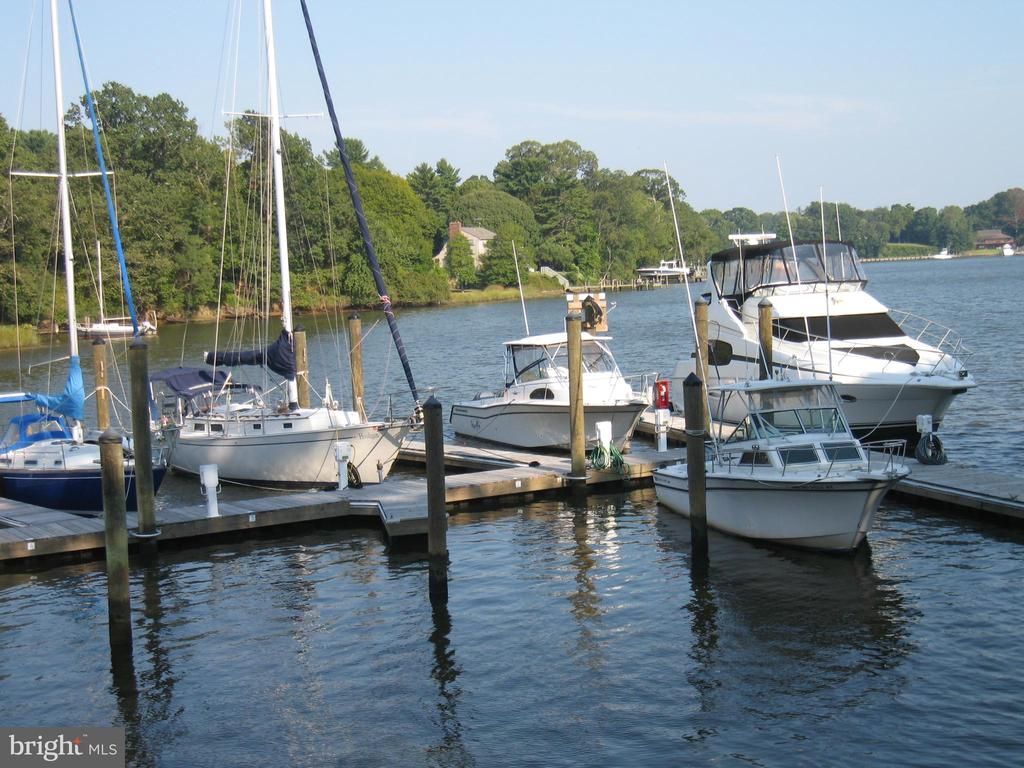 Deep Water pier on Mill Creek - 1643 ORCHARD BEACH RD, ANNAPOLIS