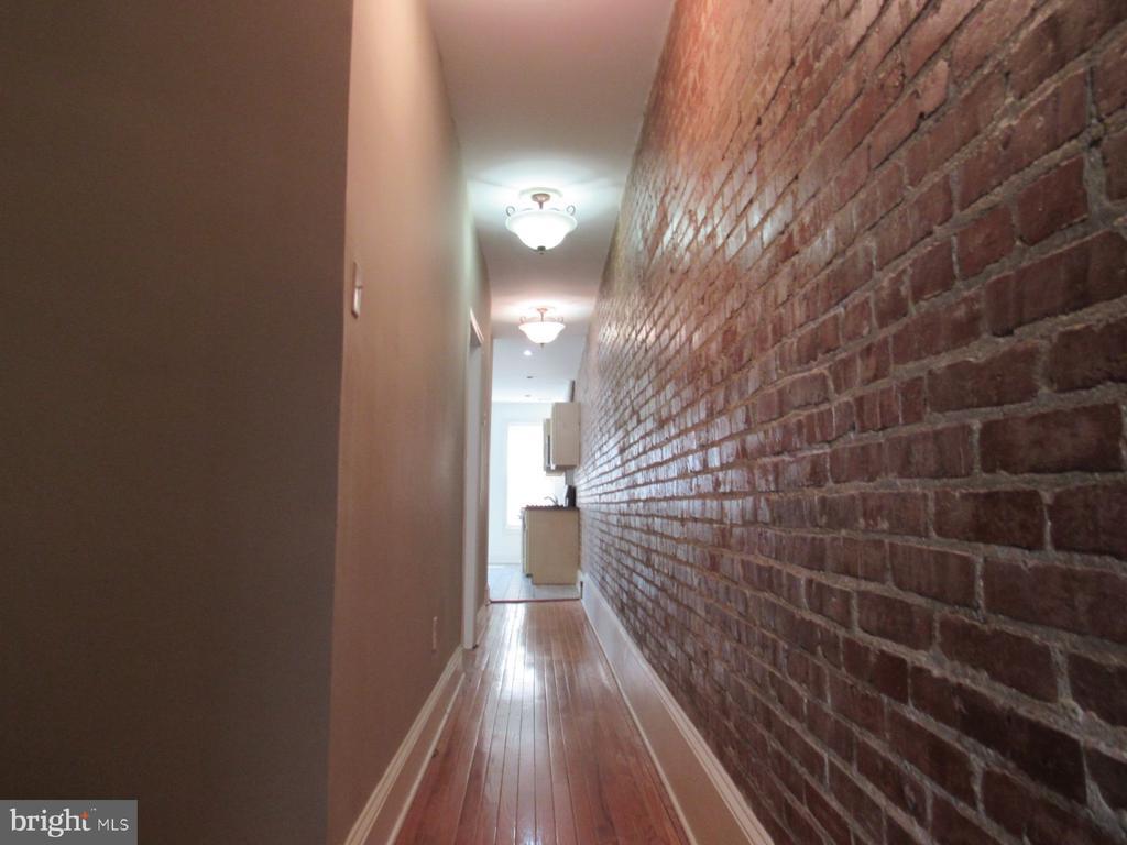 Top unit hallway - 1803 2ND ST NW, WASHINGTON