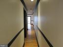 Main level unit hallway - 1803 2ND ST NW, WASHINGTON
