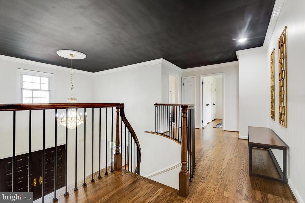 Upper Level Hallway - 8511 CATHEDRAL FOREST DR, FAIRFAX STATION