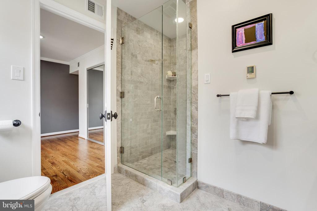 Upper Level Master Bath - 8511 CATHEDRAL FOREST DR, FAIRFAX STATION