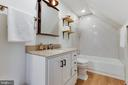 Upper Level Full Bath in Detached Garage - 8511 CATHEDRAL FOREST DR, FAIRFAX STATION