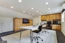 Upper Level Office in Detached Garage - 8511 CATHEDRAL FOREST DR, FAIRFAX STATION
