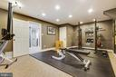 Basement 5th Bedroom/Exercise Room - 8511 CATHEDRAL FOREST DR, FAIRFAX STATION