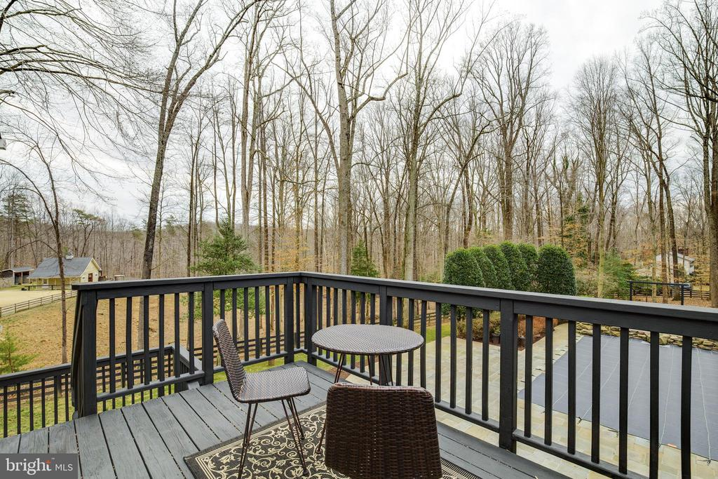 Upper Deck on Detached Garage - 8511 CATHEDRAL FOREST DR, FAIRFAX STATION