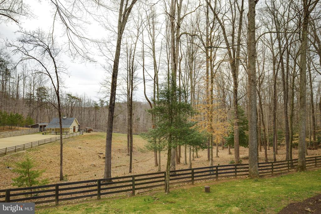 View of Paddock & Shed - 8511 CATHEDRAL FOREST DR, FAIRFAX STATION