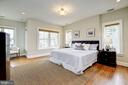 Master Bedroom view 1 - 4405 RIDGE ST, CHEVY CHASE