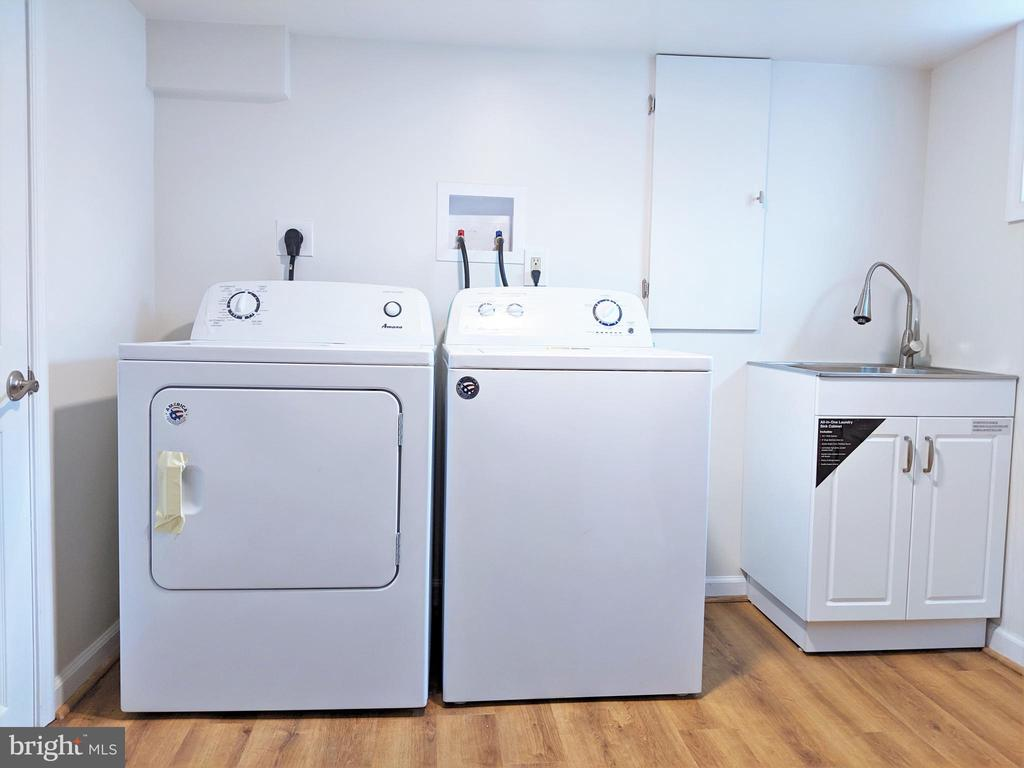 New Washer/Dryer in Basement - 2503 2ND RD N, ARLINGTON