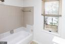 Master Bath with soaking tub - 12209 ST PETER CT #G, GERMANTOWN