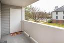 Balcony - 12209 ST PETER CT #G, GERMANTOWN
